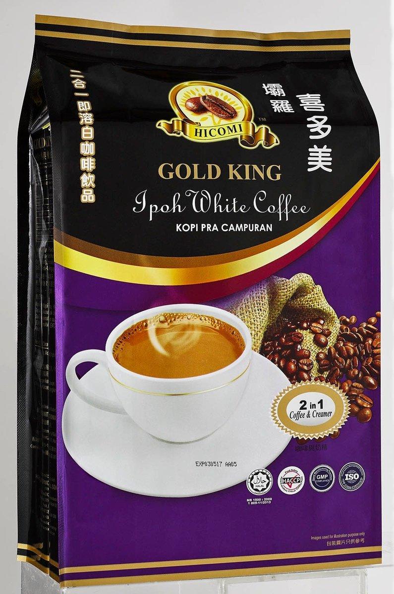 Hicomi 2in1 Coffee & Creamer (25g x 15 sachets)