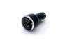 CARMATE - IN-CAR USB CHARGER 3.1A - BLACK