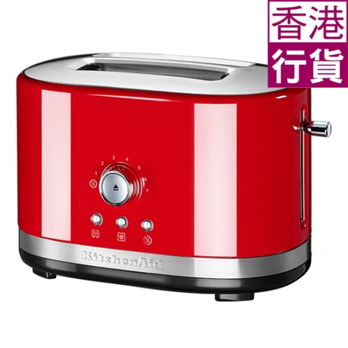 2 Slot Manual Control Toaster (Empire Red) (Official Warranty) 5KMT2116BER