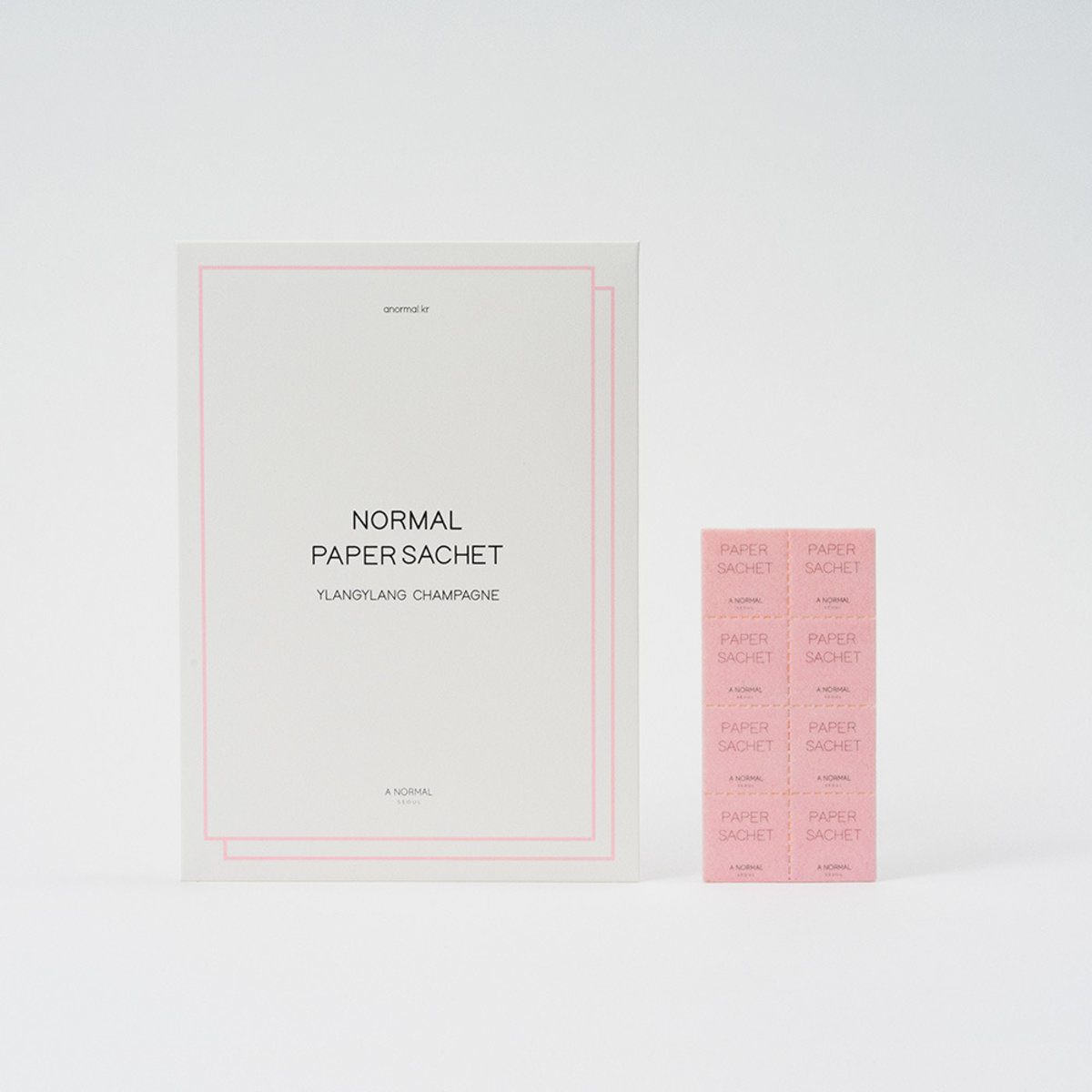 Anormal Normal Paper Sachet YIang YIang Champagne