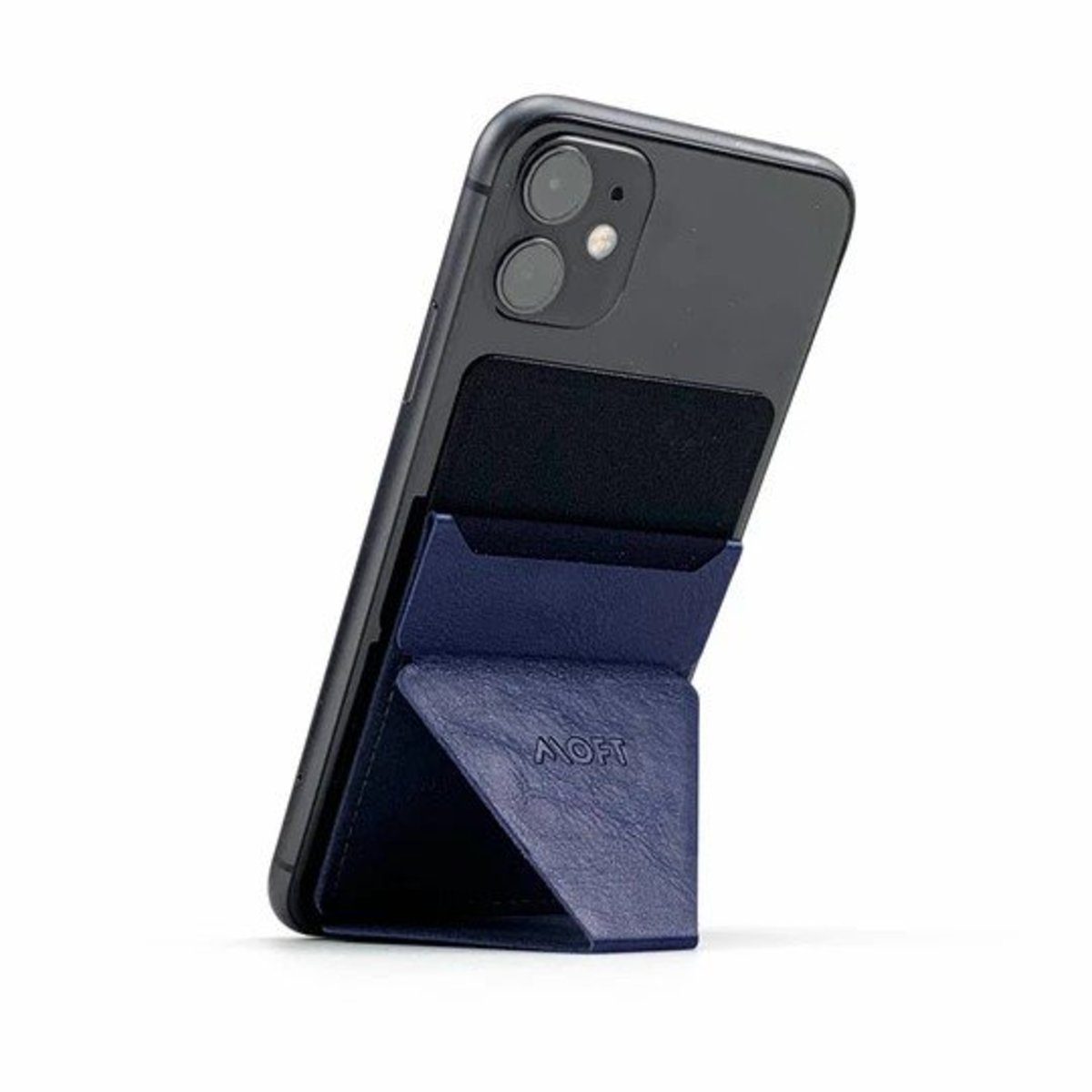 MOFT X Phone Stand | One second opening and closing | With credit card slot | Ultra thin(Navy)