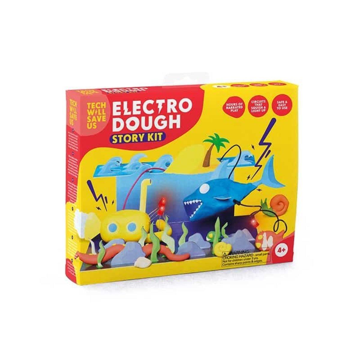 英國創意STEM玩具- 電子創意黏土-故事套裝