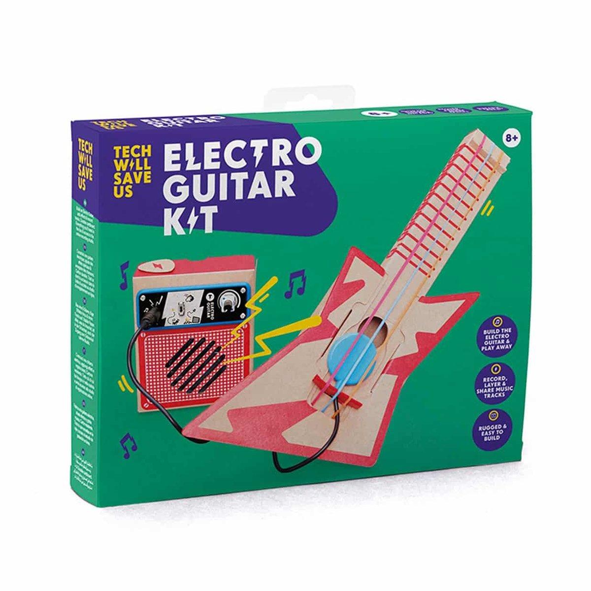 UK STEM Toy -Electro Guitar Kit