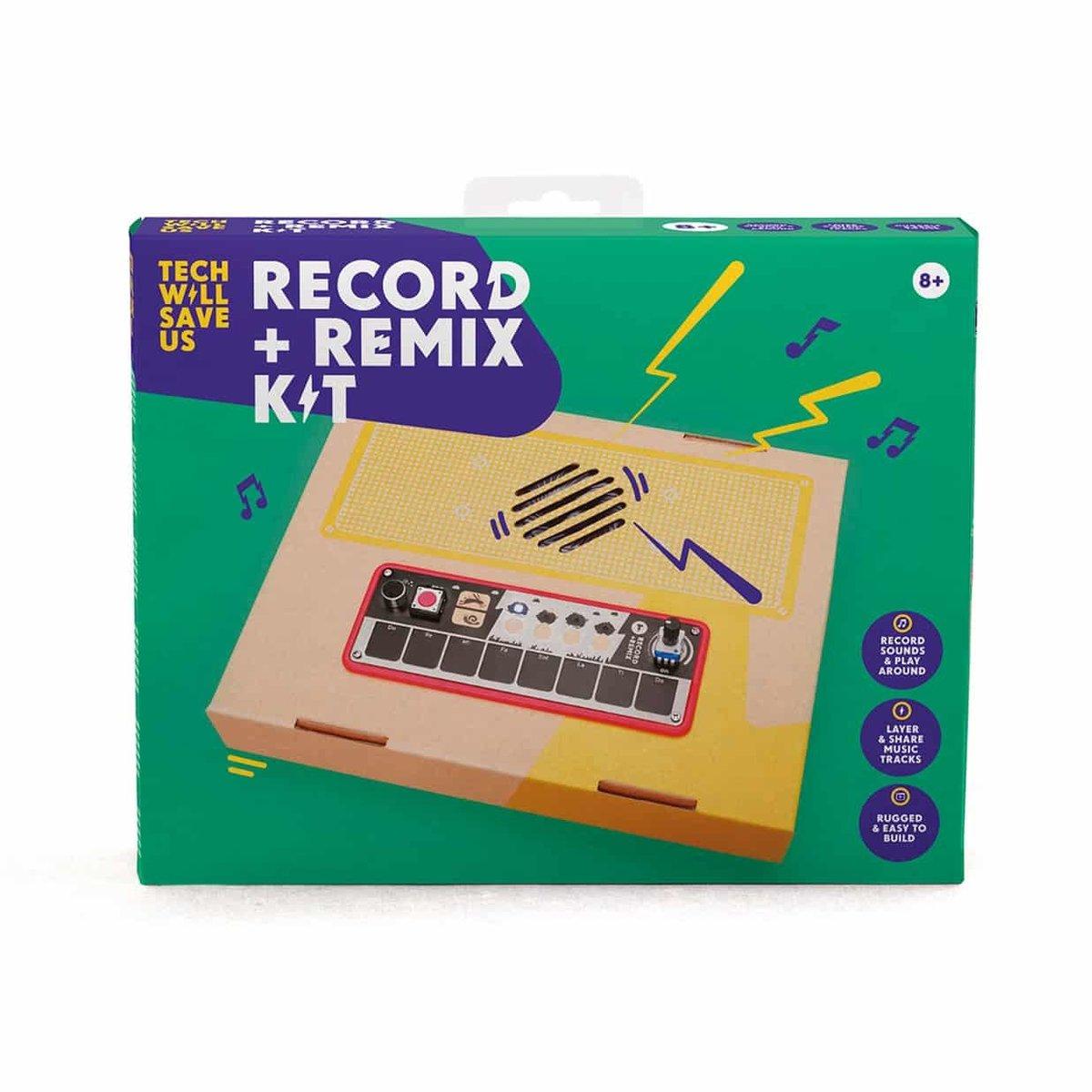 UK STEM Toy -Record & Remix Kit