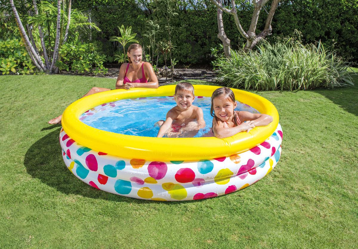 波點充氣游泳池