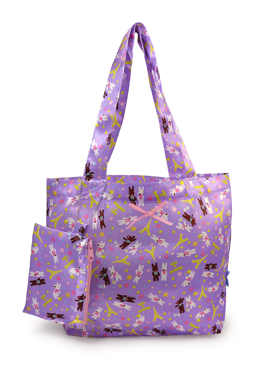 Purple Shopping Bag (G&L)