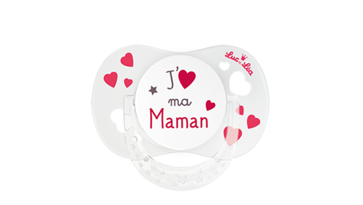 LEL SOOTHER +0M SYM MAMAN With Ring
