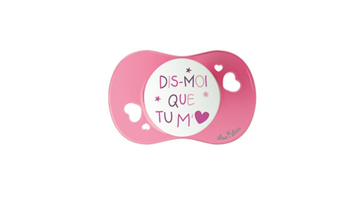 (適合18個月或以上)法國LEL趣緻奶嘴-我愛毛绒玩具(粉紅色)