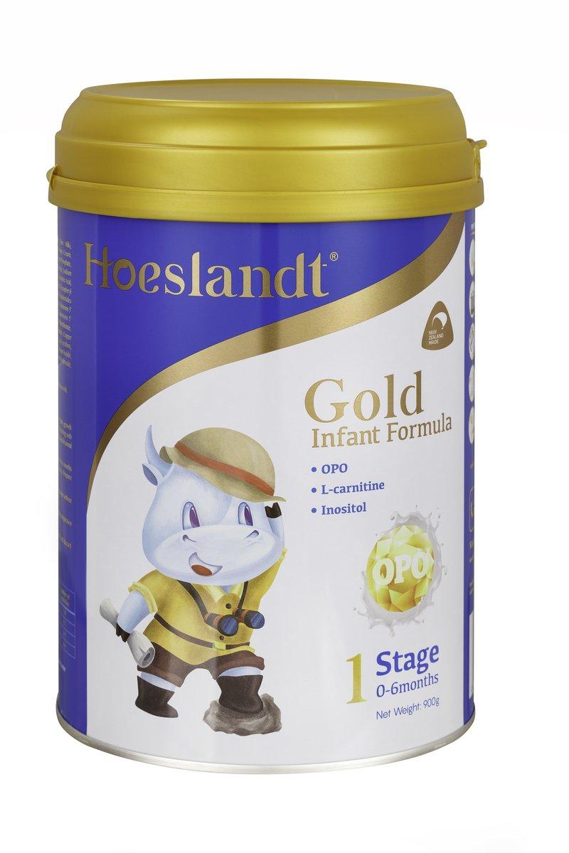 荷仕蘭金裝OPO嬰兒配方奶粉(國際英文版) 1段 900g (9421904729186)