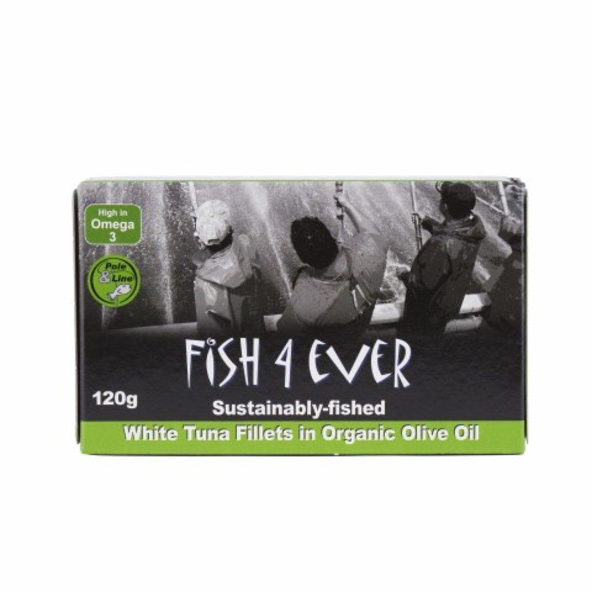 White Tuna Fish in Organic Olive Oil