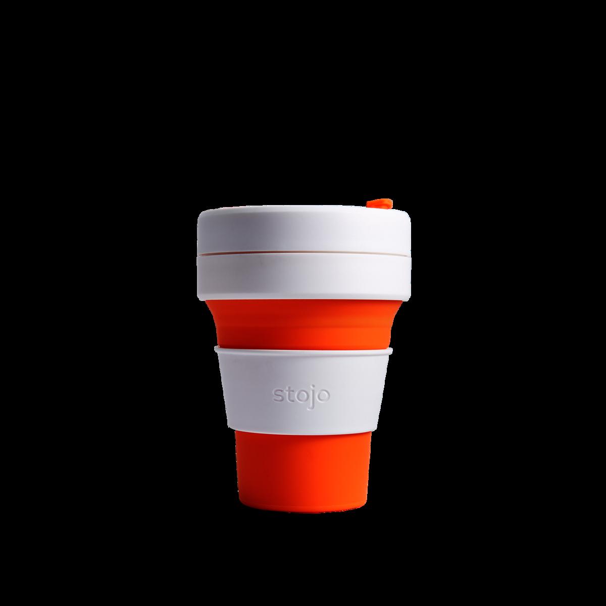 12安士可壓縮口袋杯 - 橙色