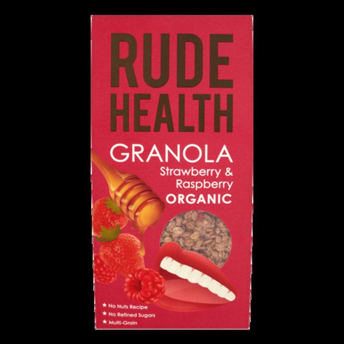 Organic Strawberry & Raspberry Granola (450g)