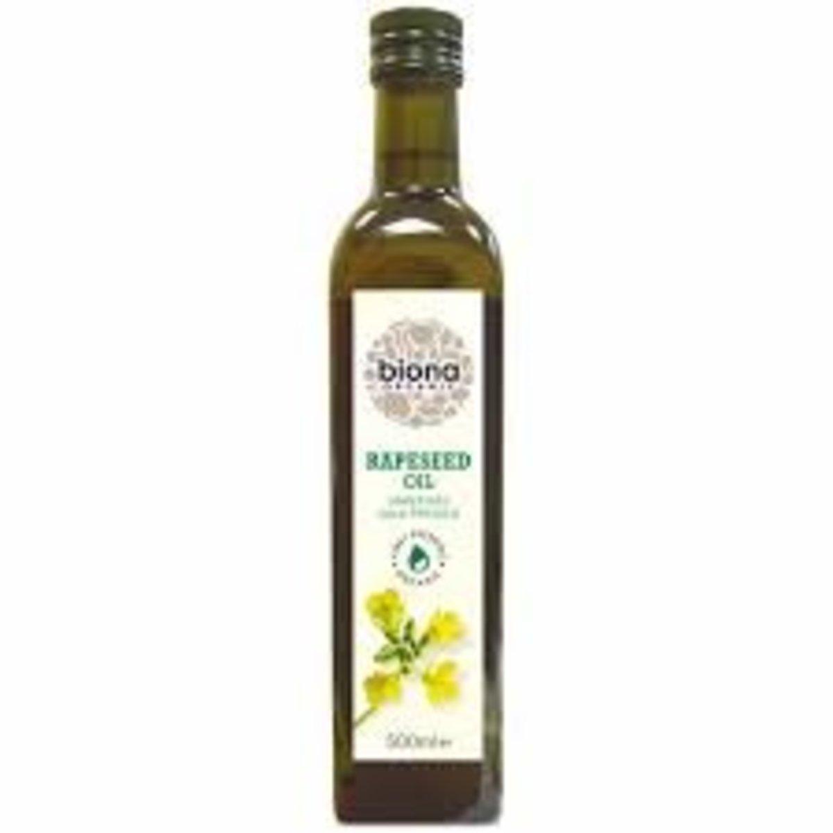 有機冷壓菜籽油
