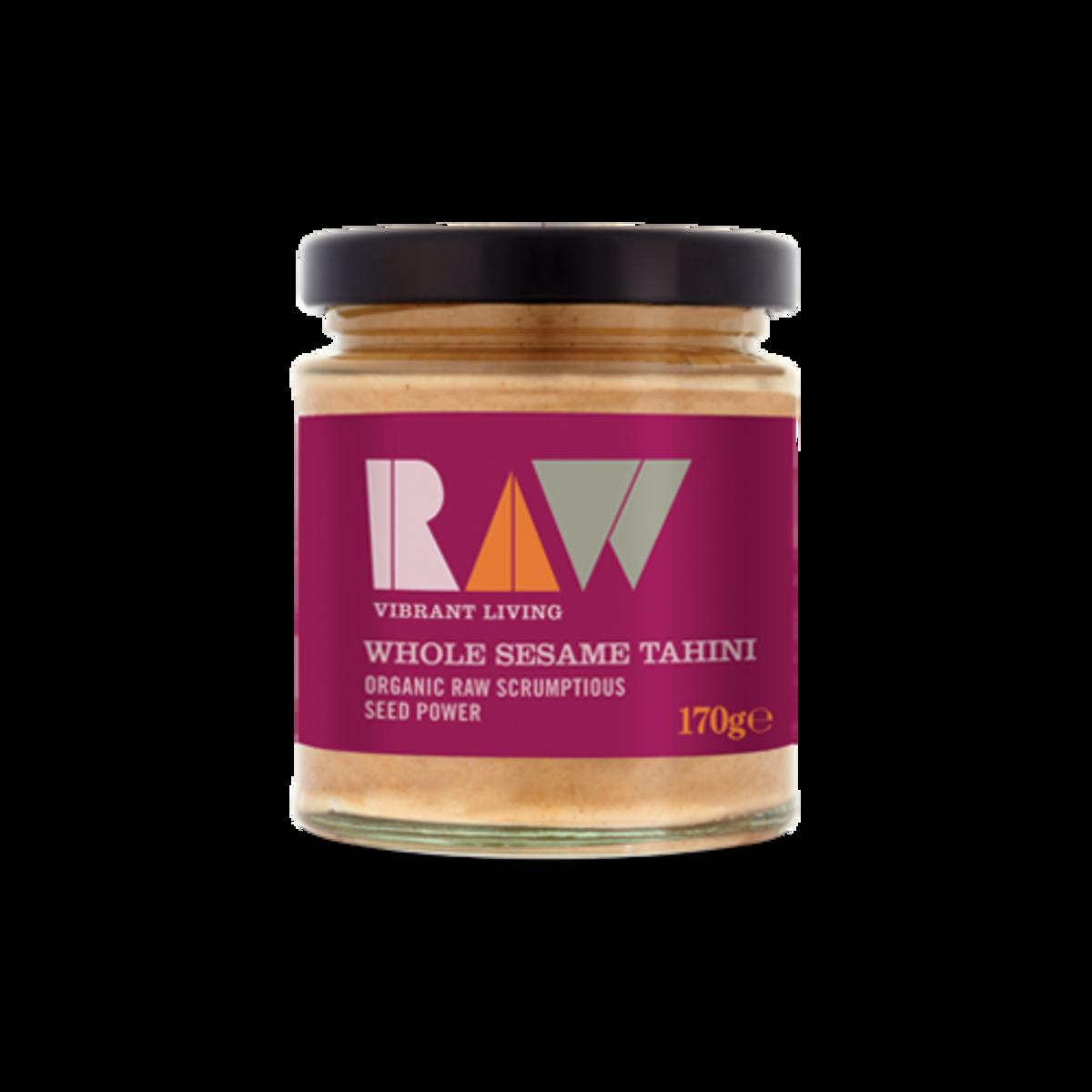 Organic Raw Whole Sesame Tahini Spread