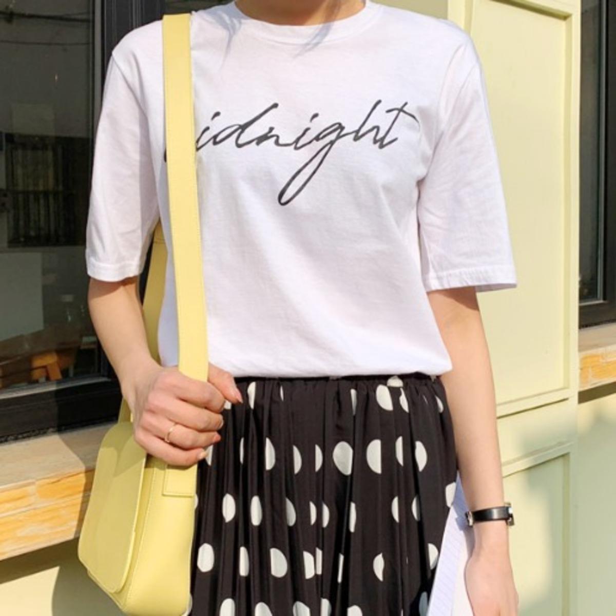 Midnight Lettering T-Shirt