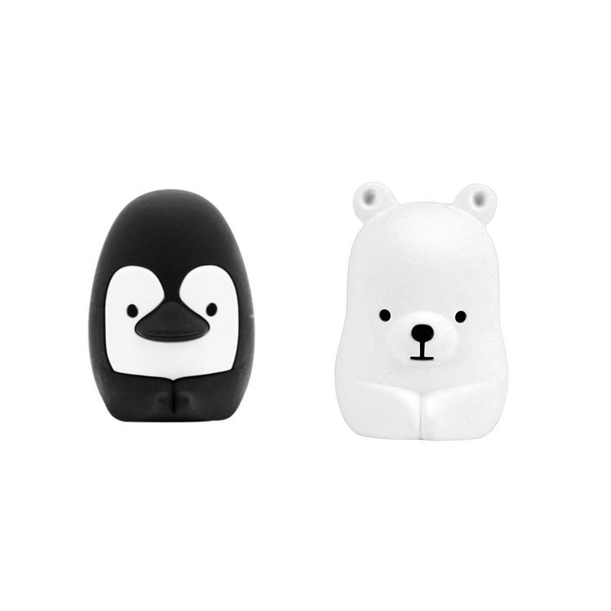 牙刷托(企鵝&小熊)