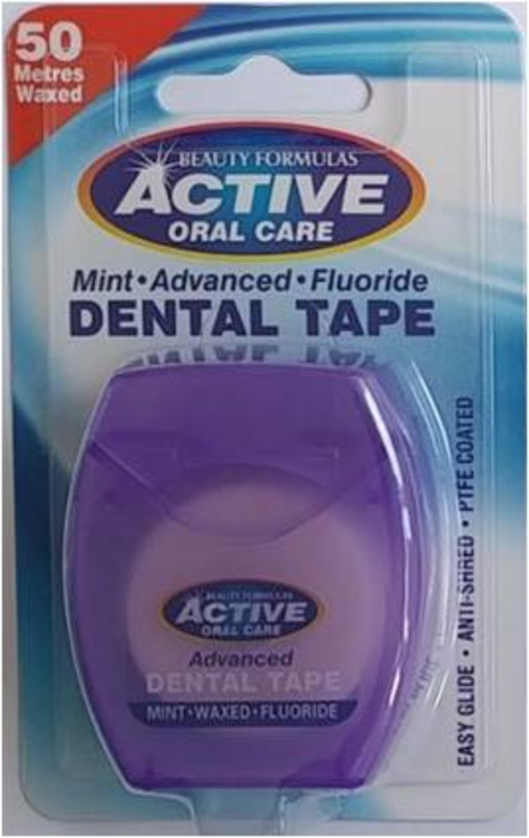 MINT ADVANCED FLUORIDE DENTAL TAPE 50M (parallel import goods)