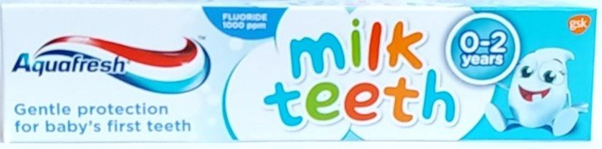 MILK TEETH TOOTHPASTE (0-2 YEARS) 50ml