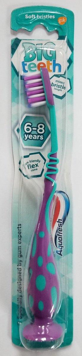 兒童牙刷 6歲+ 紫色 1's (平行進口)