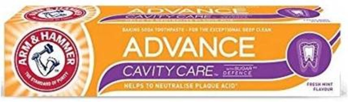 ADVANCE CAVITY CARE TOOTHPASTE 75ml (parallel import goods)