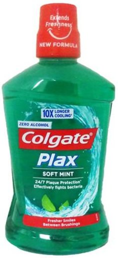 PLAX ALCOHOL FREE SOFT MINT MOUTHWASH 250ml (parallel import goods)