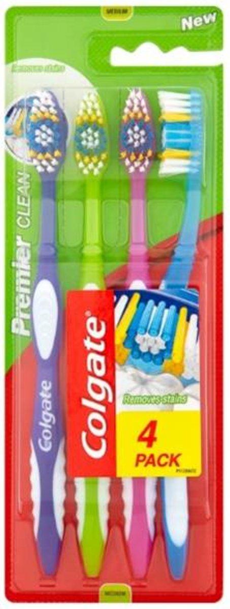 優質潔淨牙刷 4's (平行進口)