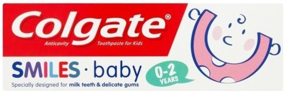 [贈品] 兒童牙膏 0-2歲 50ml 到期日: 09/2020 (平行進口)
