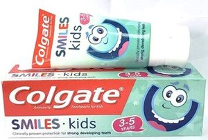 [Free Gift] SMILE TOOTHPASTE 3-5Years 50ml Exp: 08/2020
