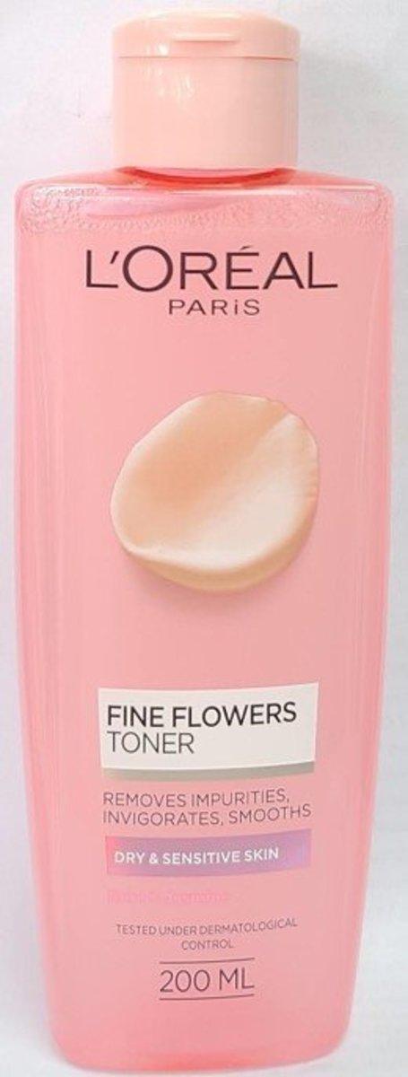 FINE FLOWERS CLEANSE TONER 200ml