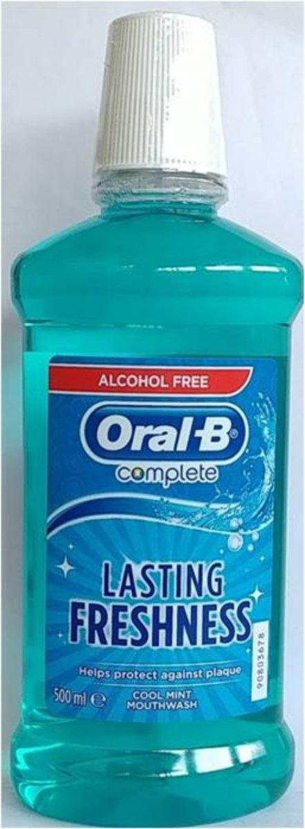 MOUTH RINSE COMPLETE RINSE FRESH BREATH ALCOHOL FREE 500ml (parallel import goods)