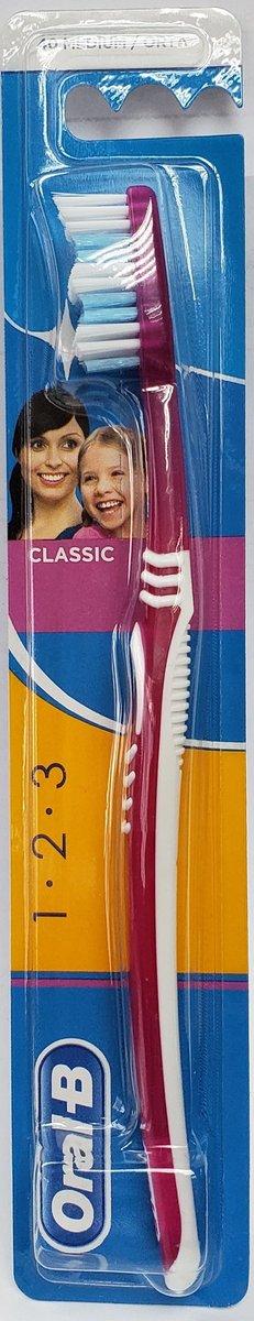 CLASSIC 40 TOOTHBRUSH  (MEDIUM) 1's (parallel import goods)