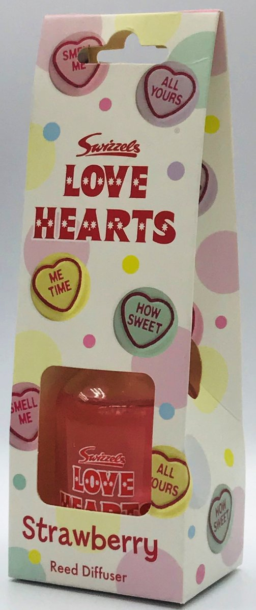 REED DIFFUSER LOVE HEARTS 50ml