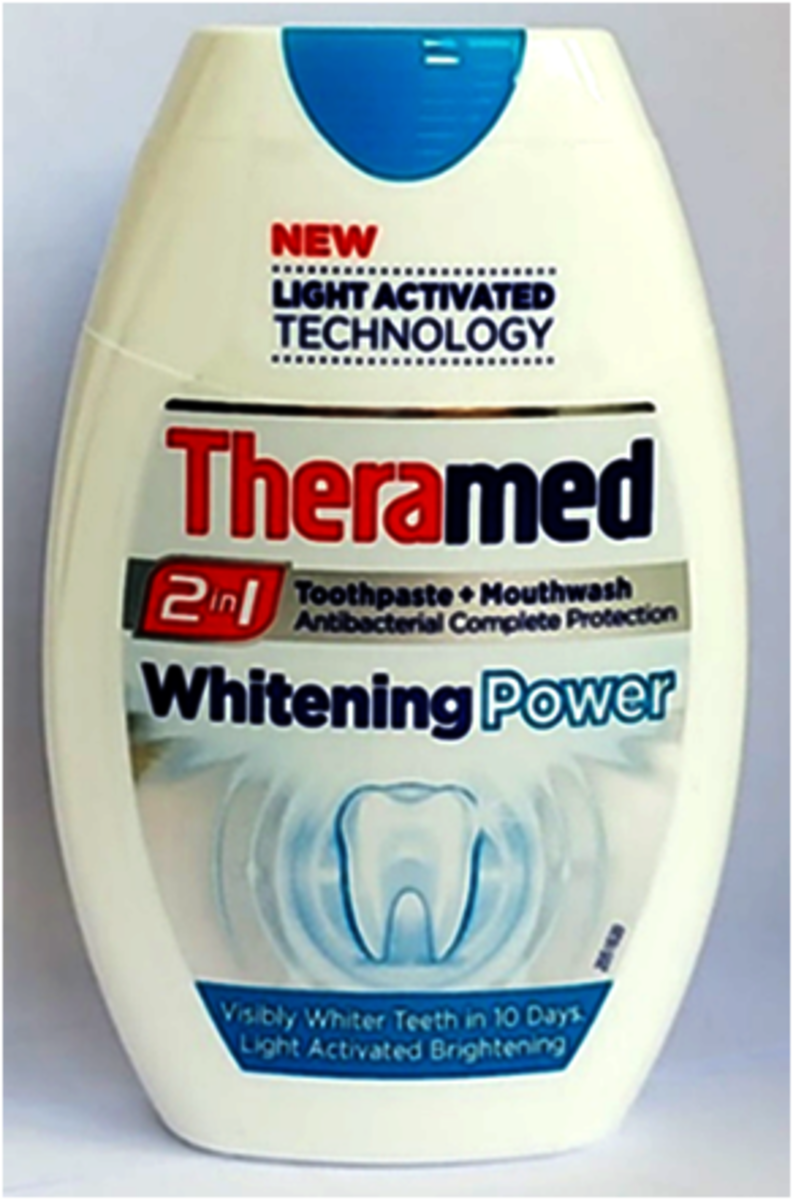 TOOTHPASTE & MOUTHWASH 2 IN 1 - WHITENING 75ml (parallel import goods)
