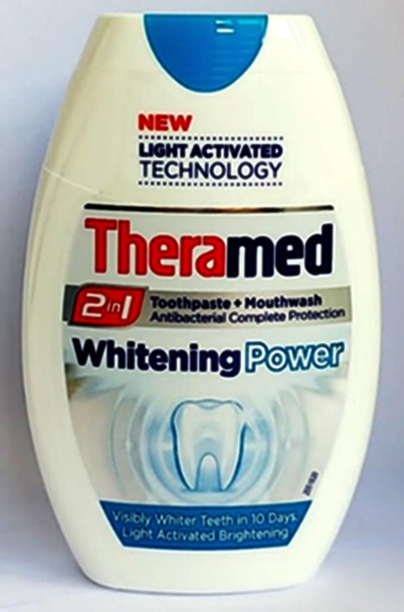 牙膏漱口水2合1-美白 75ml (平行進口)