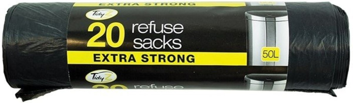 EXTRA STRONG REFUSE SACKS 20's (parallel import good)