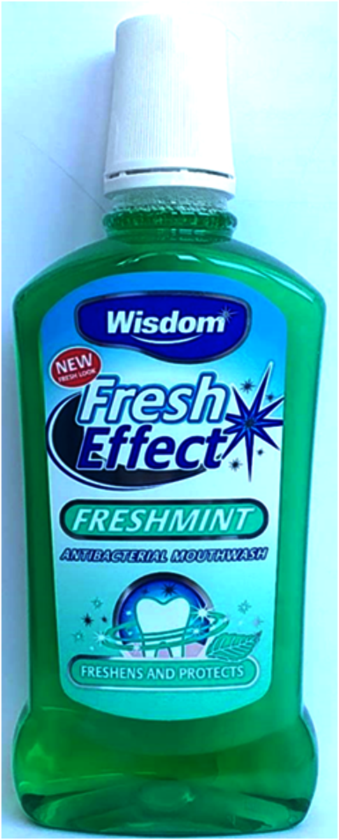 FRESHMINT MOUTHWASH  500ml (parallel import goods)