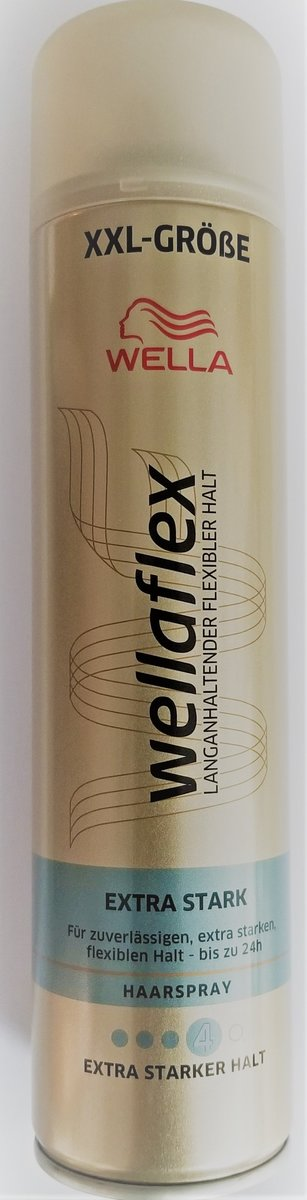 WELLAFLEX EXTRA STRONG HAIRSPRAY 400ml (parallel import good)