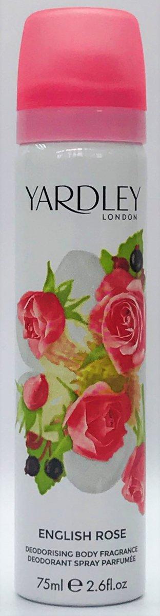 止汗噴霧 玫瑰 75ml