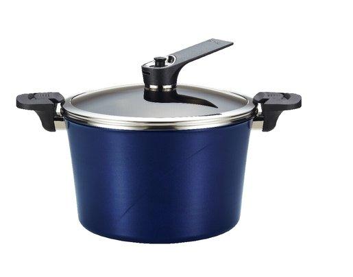 28cm (9L)韓國真空原味鍋(大)藍色 (適用於電磁爐)