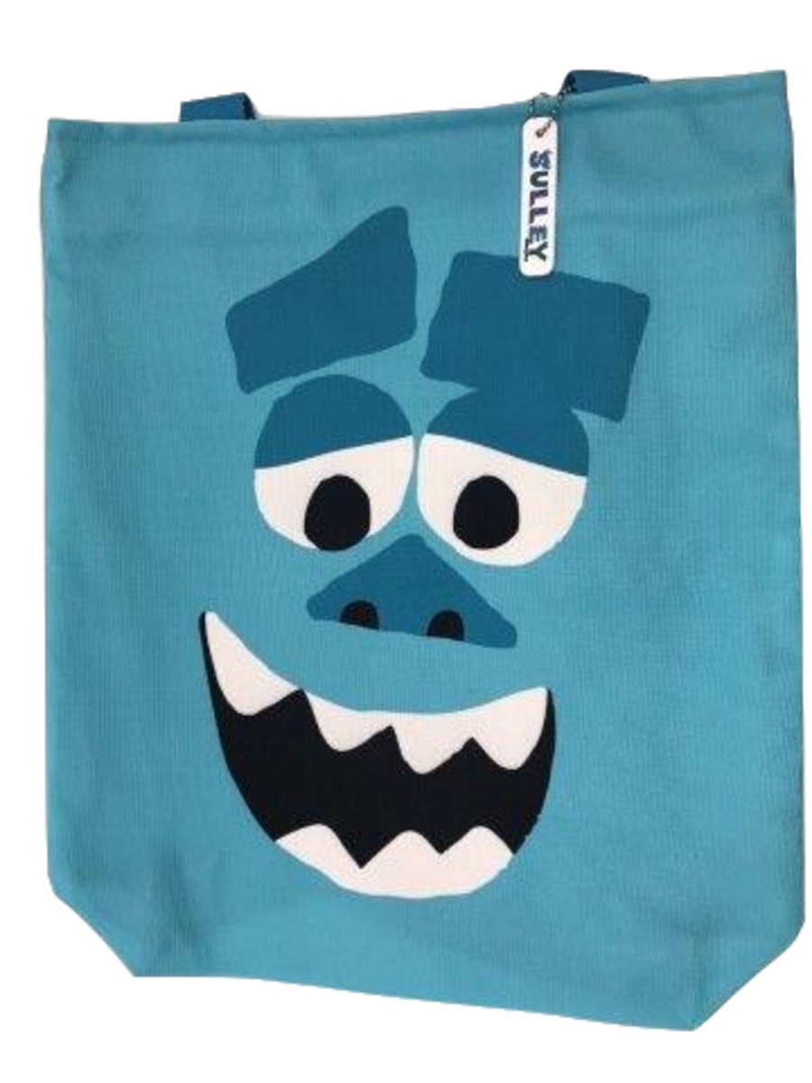 Tote Bag-Sulley(4809) [Licensed by Disney]