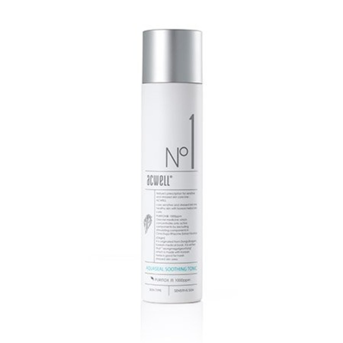 Authorised Goods - ACWELL NO1 AQUASEAL SOOTHING TONIC - 艾珂薇 NO1 深層極緻保濕舒緩爽膚水