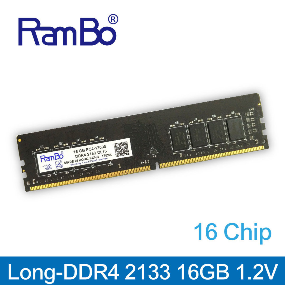 16GB PC4-17000 DDR4 2133MHz Long DIMM SDRAM for PC