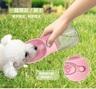 寵物飲水杯 550ml - 粉紅色
