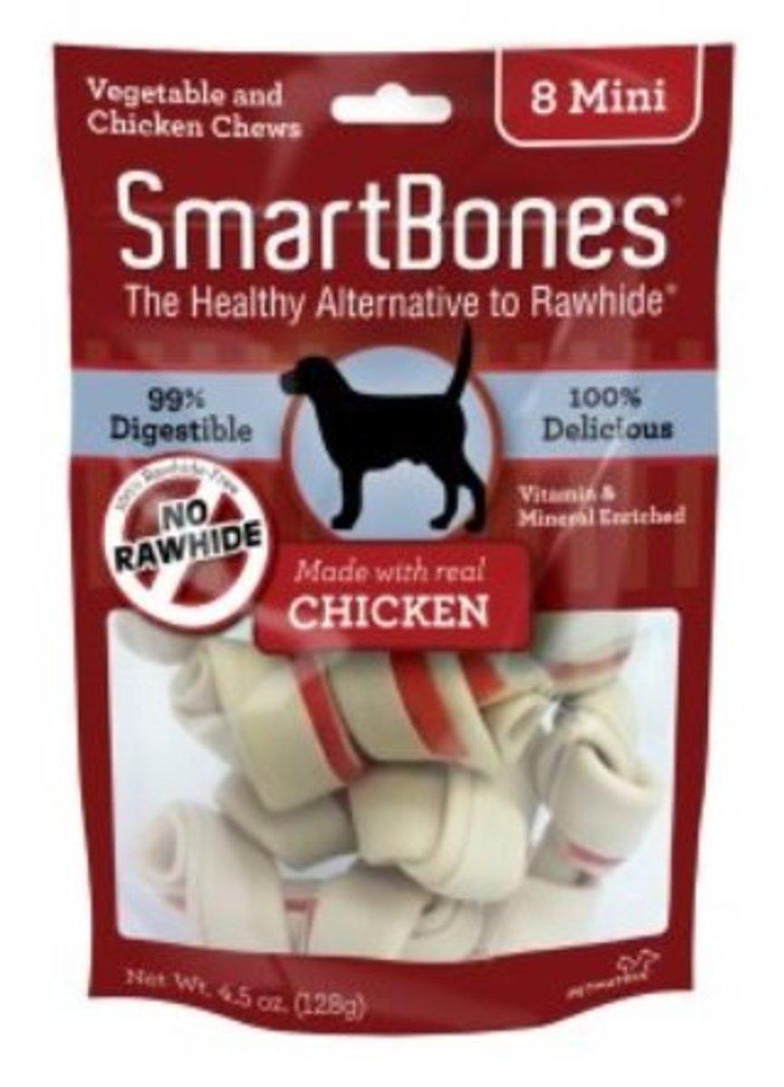 """Chicken Flavored Mini Bone 2.5 """"8 Sticks (SBC00200)"""