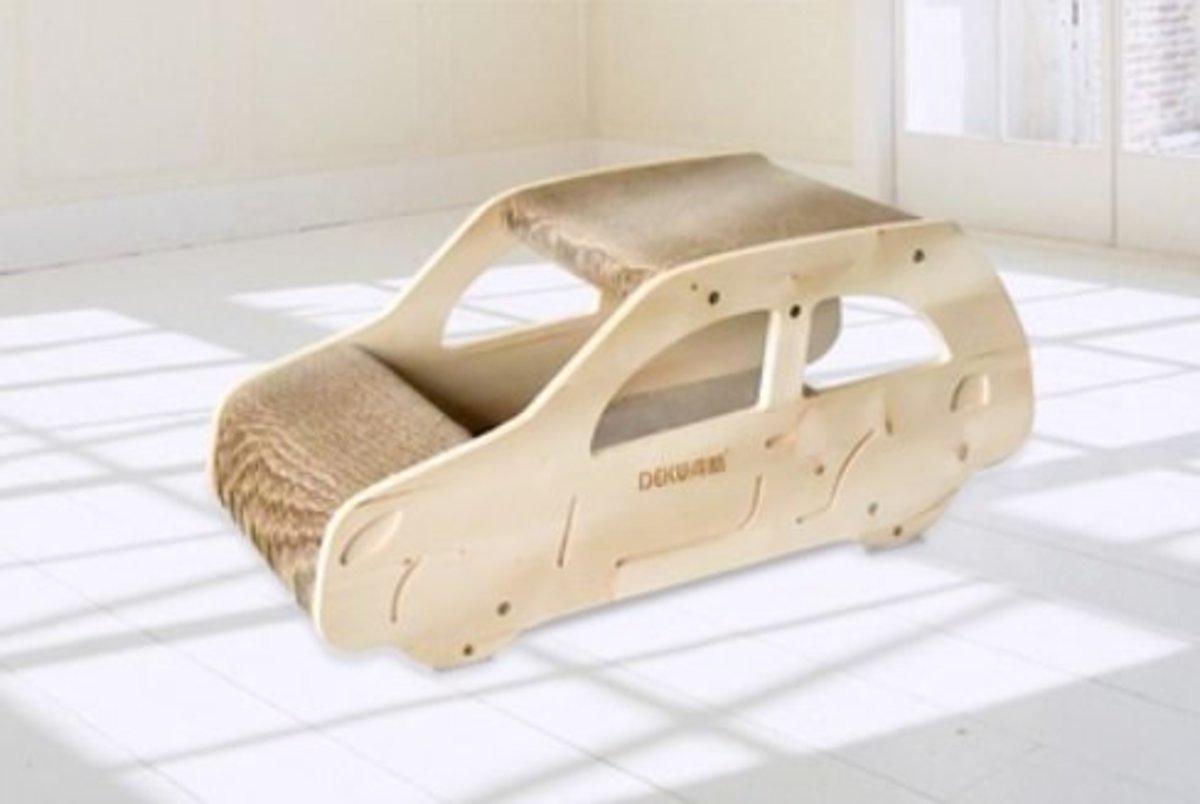 Cat scratch board-X03 (Solid wood SUV car model) (SM-0001)