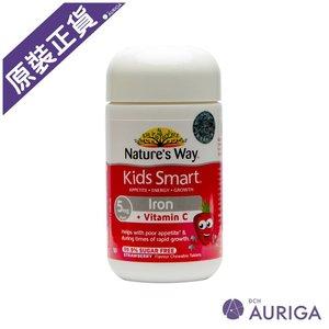 Nature's Way 澳萃維兒童鐵+維他命C咀嚼片(50片)