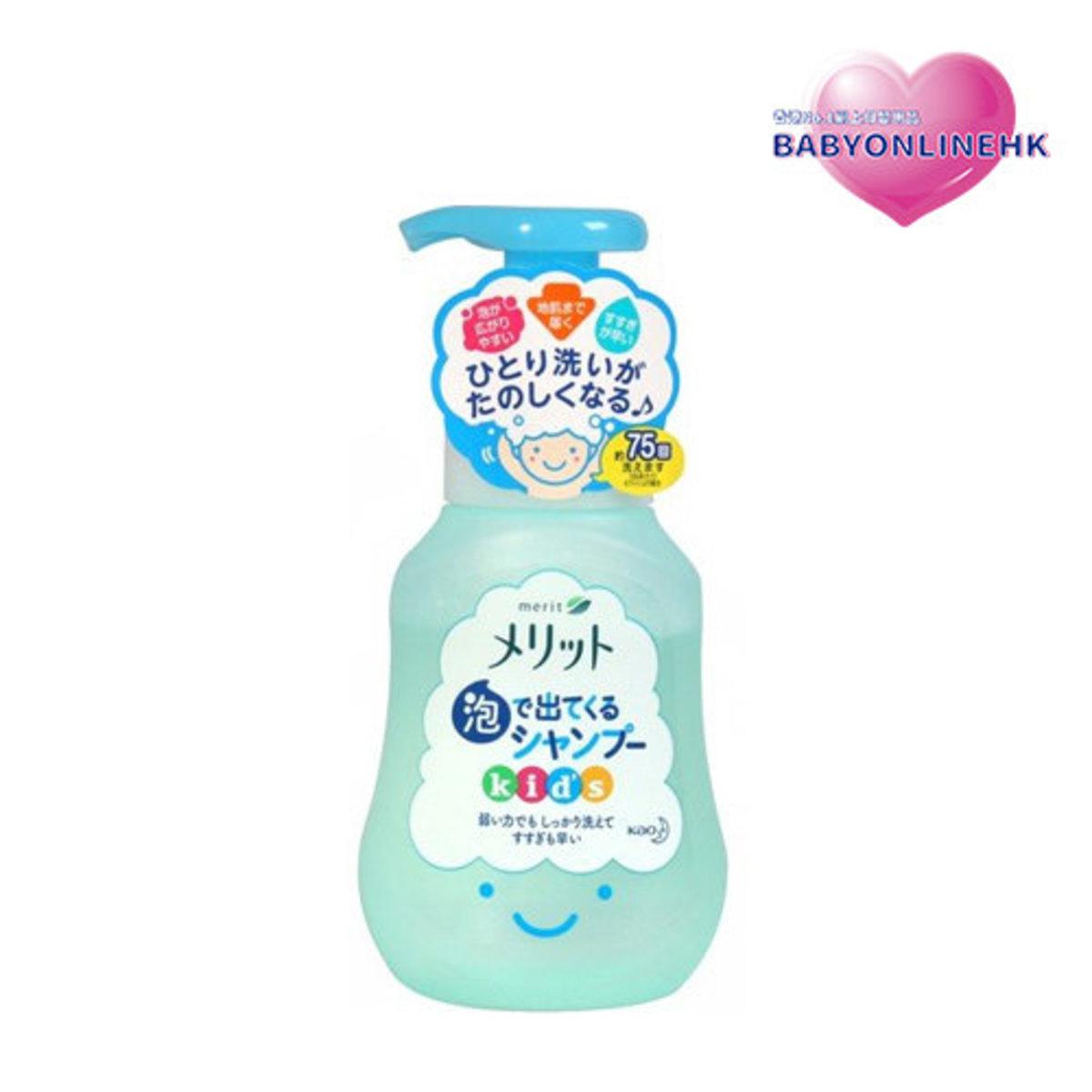 花王小童泡沫洗髮露 300ml  (平行進口貨品)