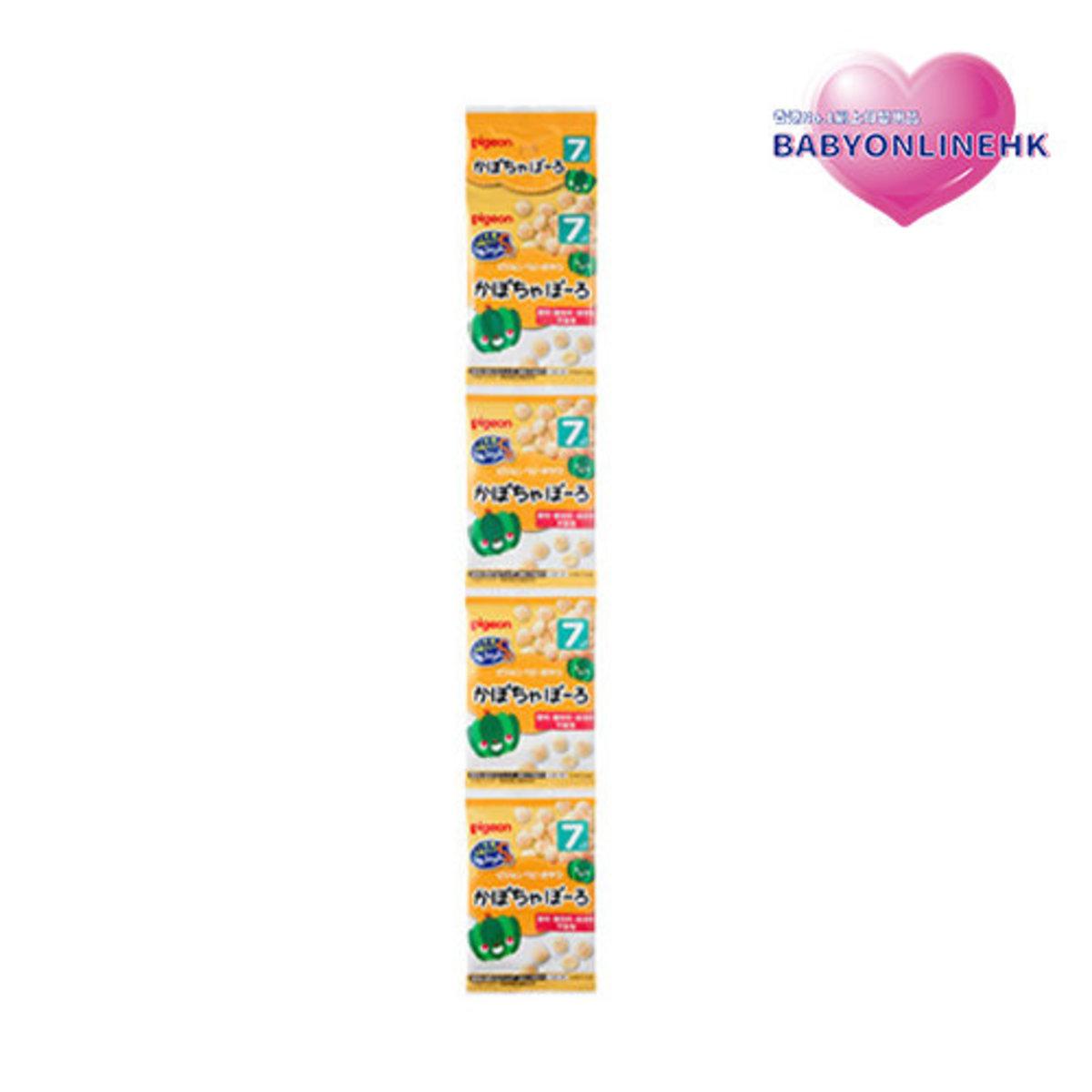 南瓜球串串包 7M+ (1串4小包) 15g x4 (平行進口貨品)