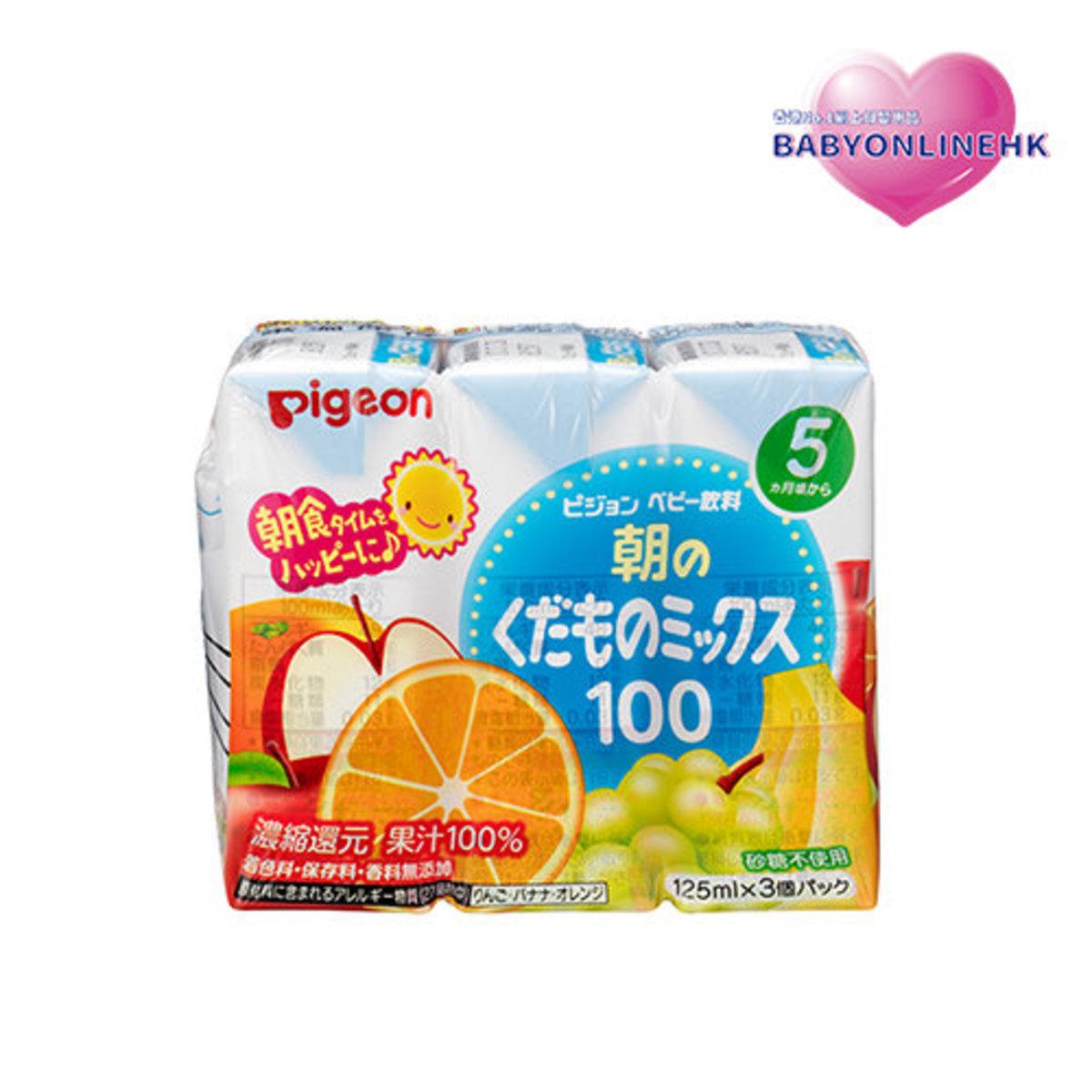 5M+ 雜果汁 (125ml x 3支) (平行進口貨品)