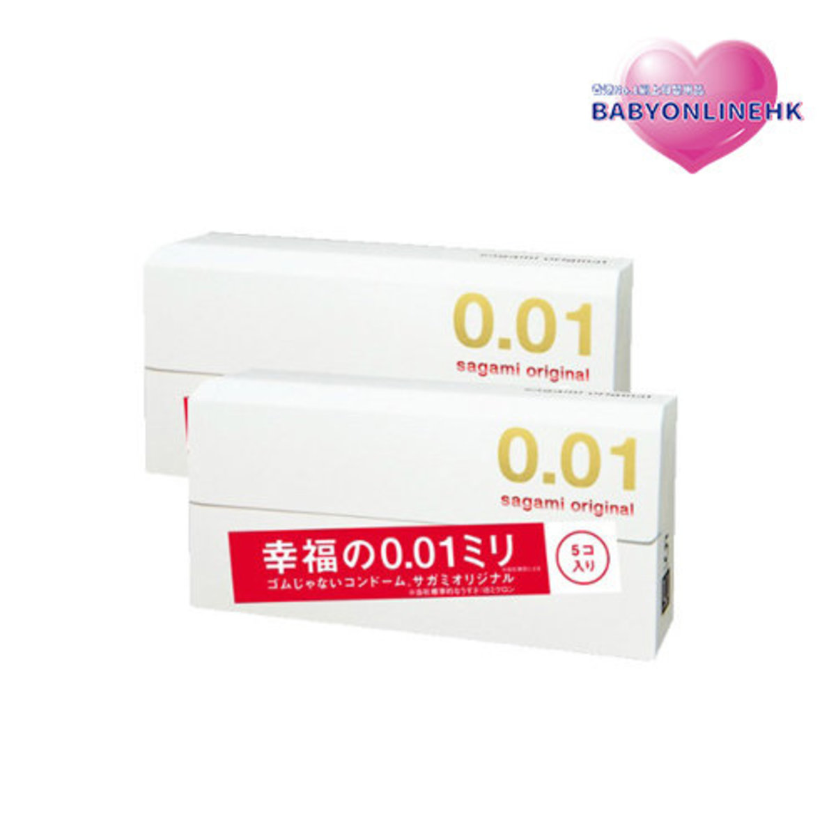 0.01 Ultra-Thin Condom X2 (Parallel Imports Product)